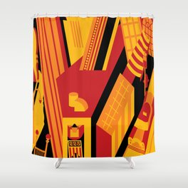 The Riv Shower Curtain