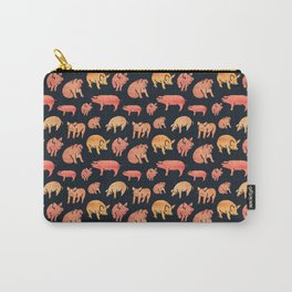 Fancy Rosegold Piggies Carry-All Pouch