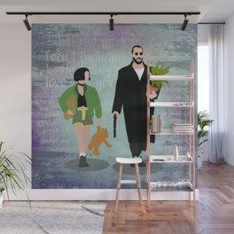 Leon the professional movie flat art Wall Mural