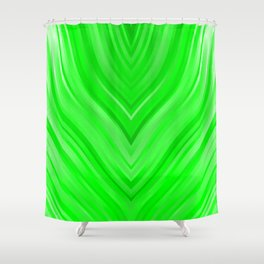stripes wave pattern 3 die Shower Curtain