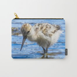 Black Necked Stilt Chick Carry-All Pouch