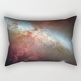 Bright galaxy Orion nebula space and stars hipster star photograph geek cool geeky gift Rectangular Pillow
