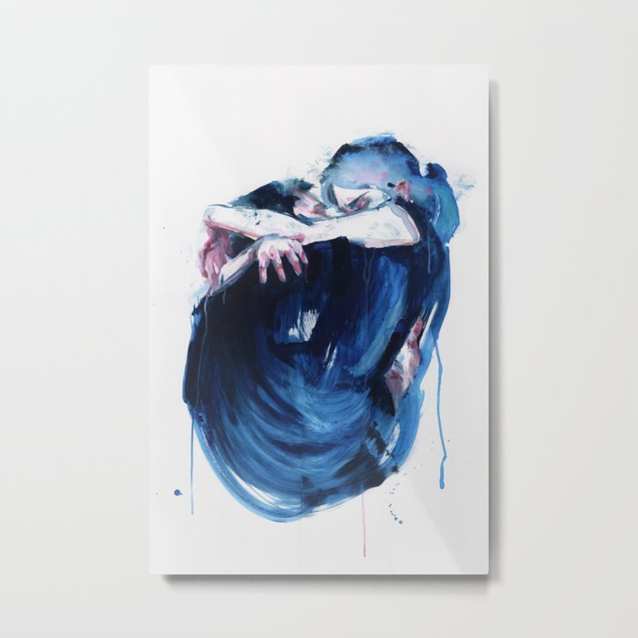 the noise of the sea Metal Print