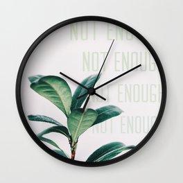 Not Enough Wall Clock