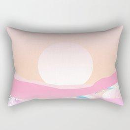Sunrise Swirls Rectangular Pillow