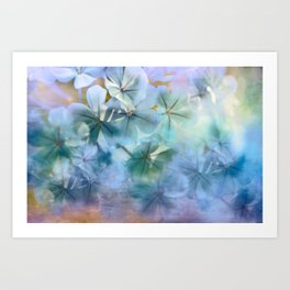Flower Clouds Art Print