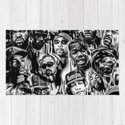 Gangster Rap Legends Print by mrilladesigns