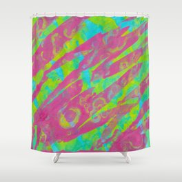 Summer Splash Shower Curtain