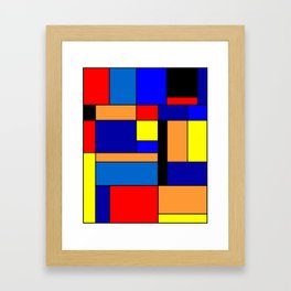Mondrian #2 Framed Art Print