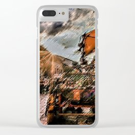 Good Morning Sarajevo Landscape Painting by Jeanpaul Ferro Clear iPhone Case