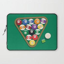 Billiard Balls Rack - Boules de billard Laptop Sleeve