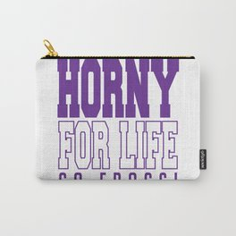 TCU, Horny For Life Carry-All Pouch