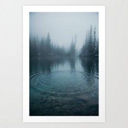 Grassi Lakes II Art Print