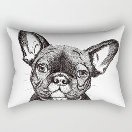 Frenchy is Your Friend Rectangular Pillow