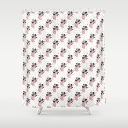 Christmas Wishes Fashion Pattern Shower Curtain