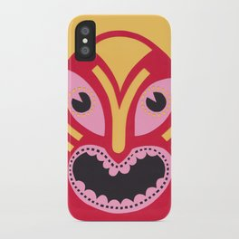 The Jolly Lucha iPhone Case