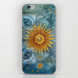 """Saturn mandala celestial vault"" iPhone Skin"