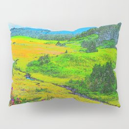 Alaska's Kenai Peninsula - Watercolor Pillow Sham