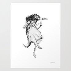 COWARD 2 Art Print