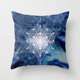 Star of David Multi-Dimensional Throw Pillow
