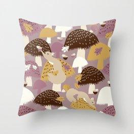 Fall Acorn Hunt Throw Pillow
