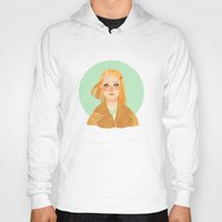 tenenbaum Hoodies featuring Margot Tenenbaum by Galaxyspeaking