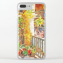 Summer Souk In Cyprus Clear iPhone Case