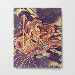 Mermaid series 2018 #1 Metal Print