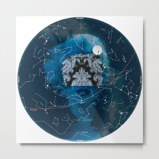 NormaL Stars Metal Print