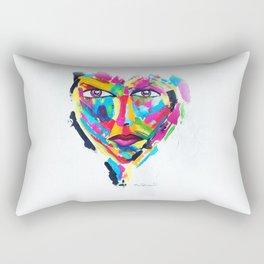 Abstract Heart Rectangular Pillow