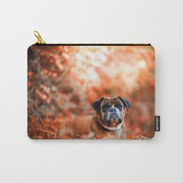Autumn Pug Carry-All Pouch