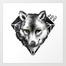The Bad Wolf Art Print