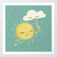 Little Sun Art Print