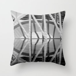 City of Arts and Sciences VI | C A L A T R A V A | architect | Throw Pillow