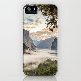Sunrise In Yosemite 1-3-18 iPhone Case