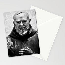 Padre Pio Stationery Cards