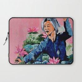 Lotus lady Laptop Sleeve
