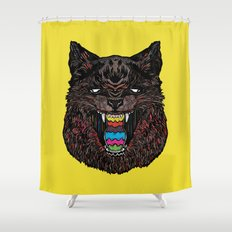 Bakeneko Shower Curtain