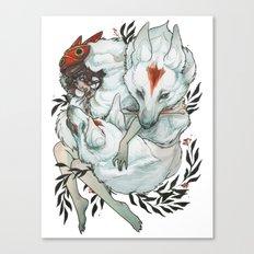 Wolf Child Canvas Print