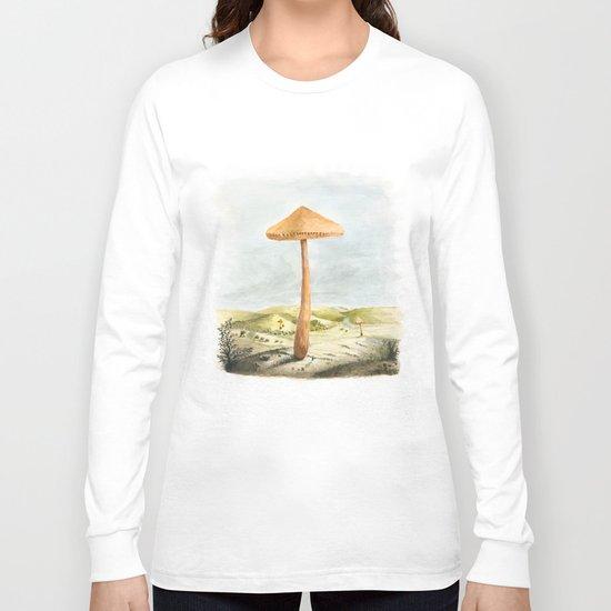 Mushland - Watercolors Long Sleeve T-shirt
