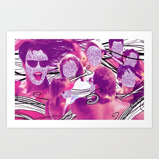 """Hair"" by Cap Blackard Art Print"