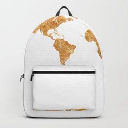 Gold World Backpack