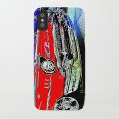 57 Chevy iPhone X Slim Case