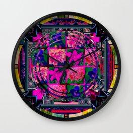 flower power 1 Wall Clock