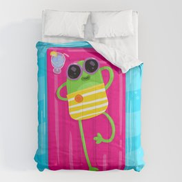Lazy Frog Comforters