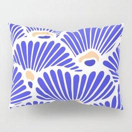 Blue Shell Pattern Pillow Sham
