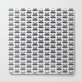 Teeny Tiny Coonie Pattern Metal Print
