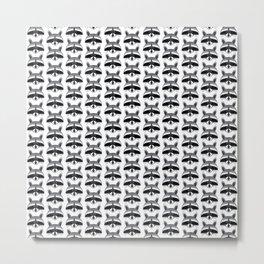 Teeny Tiny Coonie Pattern Metal Print