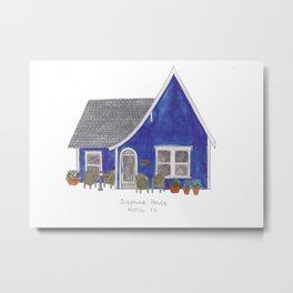 The Austin Collection: Josephine House Metal Print
