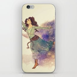 Dance on my own feet iPhone Skin